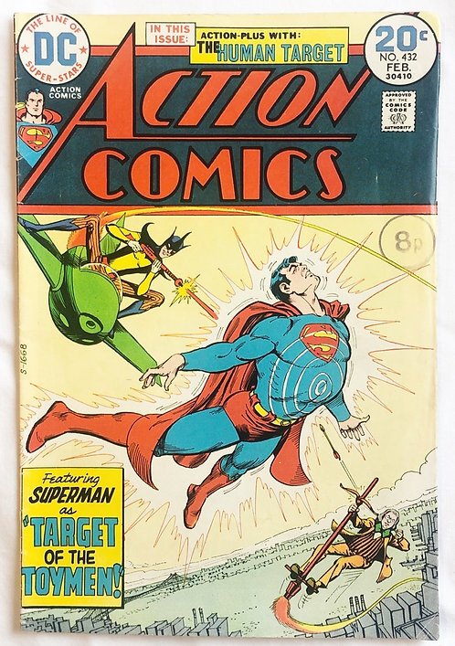 Action Comics #432 DC 1974
