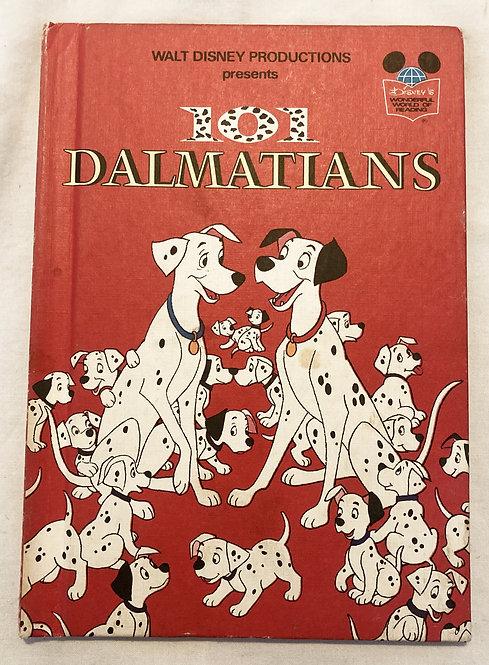 101 Dalmatians Book Walt Disney Wonderful World Of Reading 1981