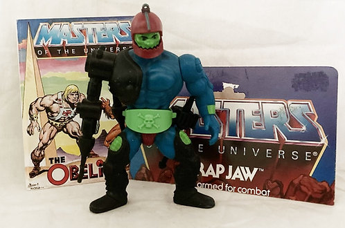 He-Man And The Masters Of The Universe Trap-Jaw Mattel 1983
