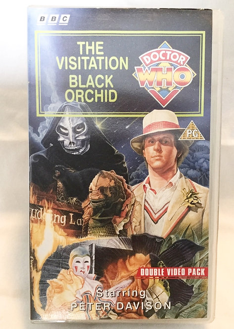Doctor Who The Visitation / Black Orchid Double Video Pack VHS