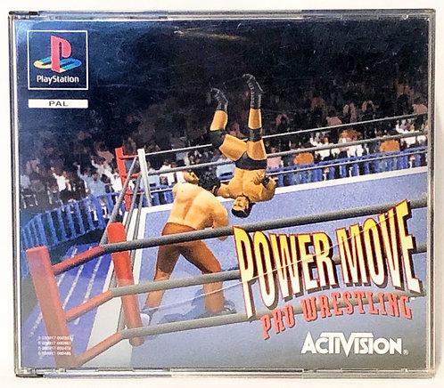 Power Move Pro Wrestling Activision PlayStation Game U.K. (PAL)