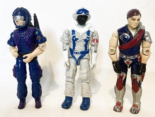 G.I. Joe Snow Serpent Xamot Tele-Vipers Hasbro 1985
