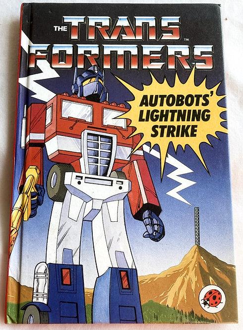 Transformers Autobots' Lighting Strike Book Ladybird 1986