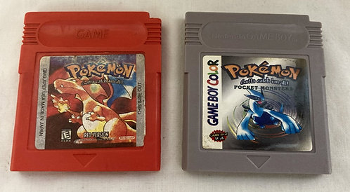Nintendo Gameboy Bootleg Pokemon Game Set