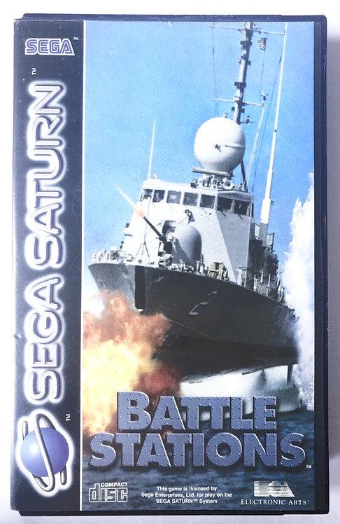 Battle Stations Sega Saturn (Pal UK)