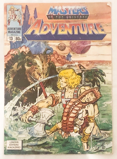 He-Man And The Masters Of the Universe Adventures No. 13 U.K. Feb 1989
