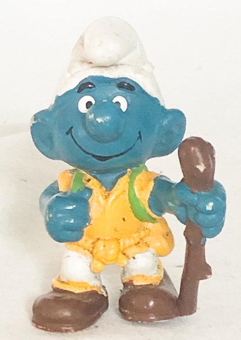 Smurfs Hiker Smurf Peyo 1978