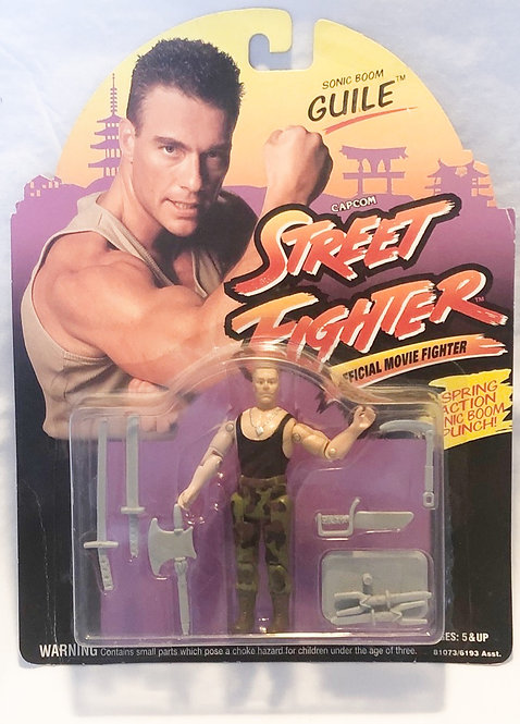 Street Fighter Official Movie Fighter Guile