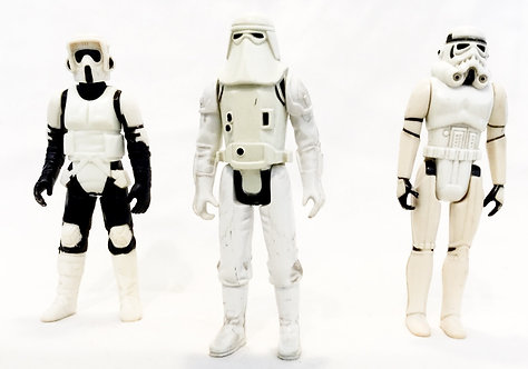 Vintage Star Wars Figure Set