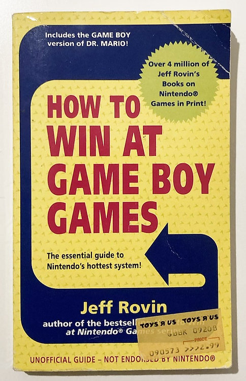 How To Win At Game Boy Games 1990