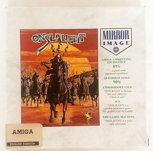 Onslaught Amiga 512K Colour