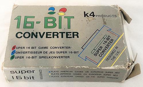 Super NIntendo SNES 16 Bit Converter (Converters Games To PAL)   K4 Products