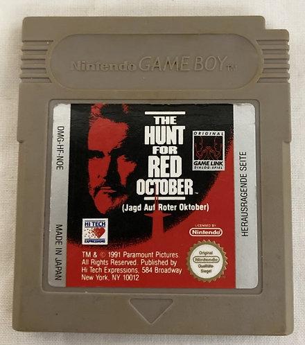 Nintendo Gameboy Hunt For Red October