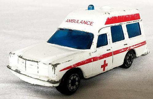 Corgi Binz Ambulance 1981