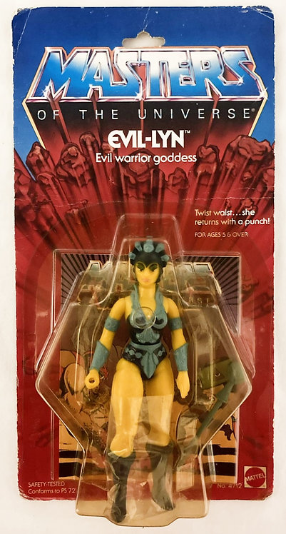 He-Man And The Masters Of The Universe Evil Lyn Hong Kong Mattel 1983