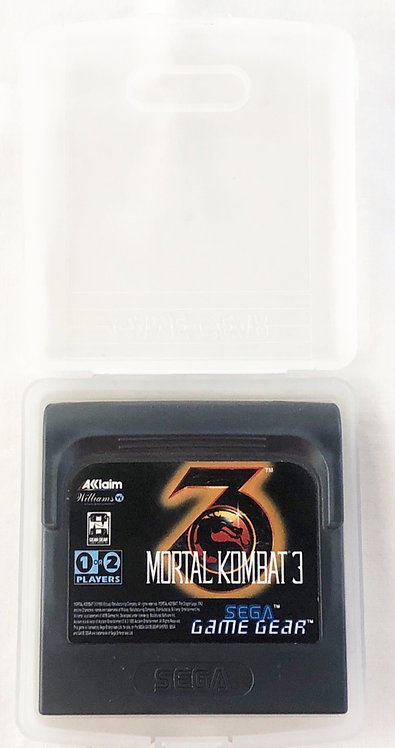 Game Gear Mortal Kombat 3 Sega U.K. (PAL)