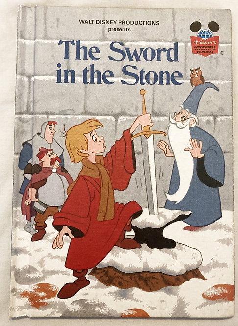 The Sword In The Stone Book Walt Disney Wonderful World Of Reading