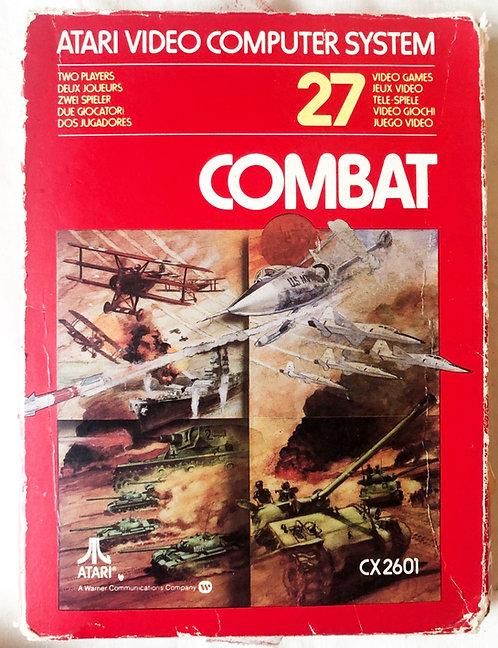 Combat Atari 2600 U.K. (PAL)
