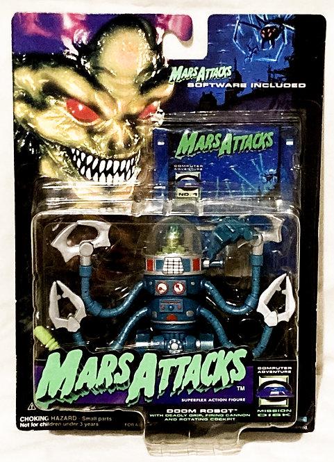 Mars Attacks! Martian Doom Robot Trendmasters 1994