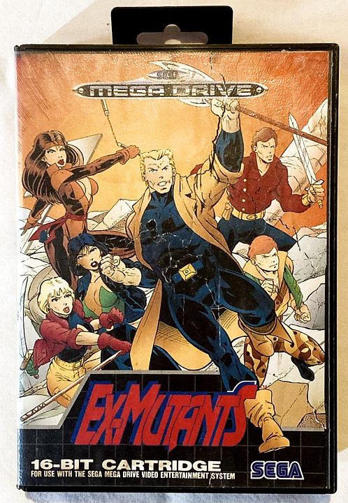 Sega Mega Drive Ex-Mutants Malibu (PAL) 1992