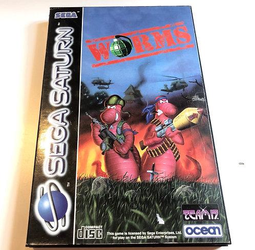 Worms (Sega Saturn Pal)