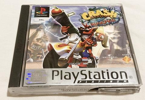 Sony Playstation Crash bandicoot Warped (Pal) UK