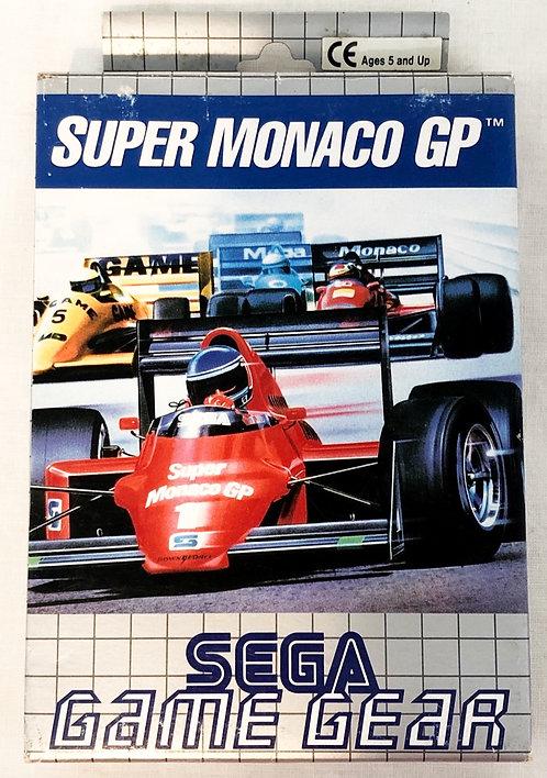 Super Monaco GP Sega Game Gear 1991