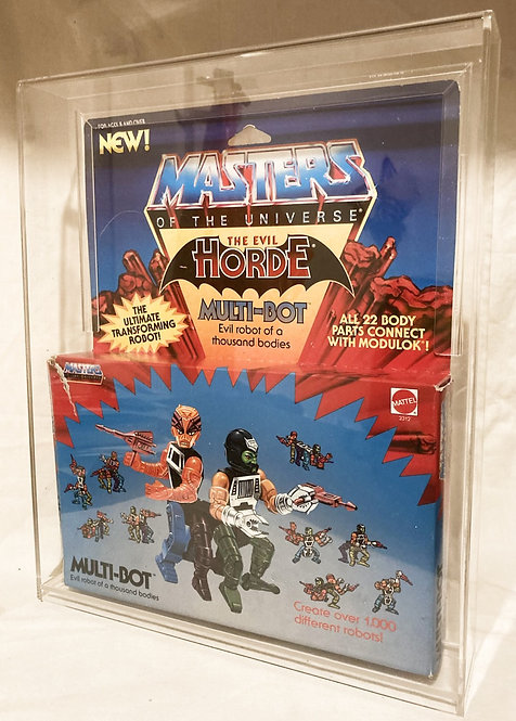 He-Man And The Masters Of The Universe Multi-Bot With Acrylic Case Mattel 1986