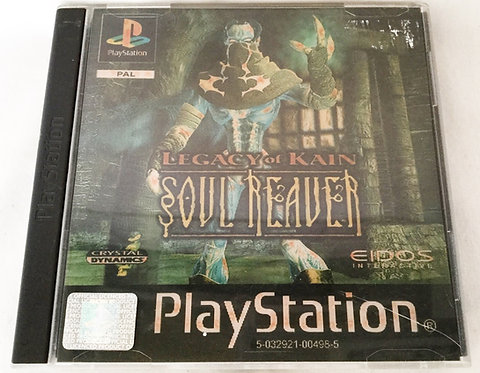 Soul Reaver Legacy Of Kain PlayStation Game UK (PAL)