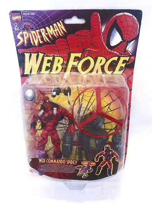 Spider-Man Web Force Web Commando Spidey