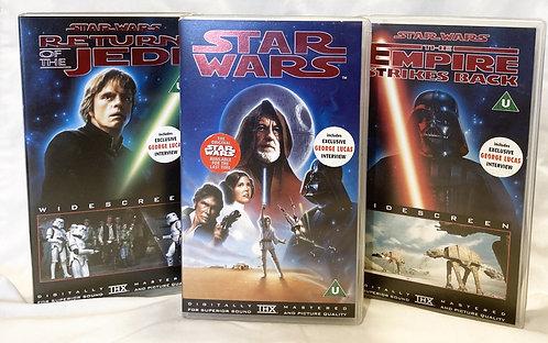 Star Wars Original Trilogy Digitally Remastered Set 1995