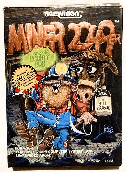 Atari 2600 Miner 2049er Tiger 1982