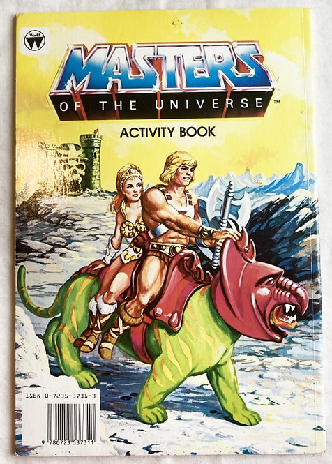 He-Man And The Masters Of The Universe Activity Book 1984