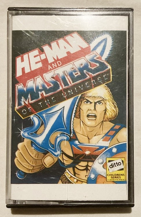 He-Man Masters of The Universe Story Tape Ditto 1983
