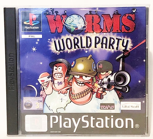 Worms World Party PlayStation Game U.K. (PAL)