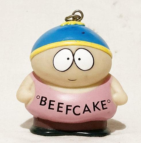 South Park Beefcake Cartman Keyring Comedy Central 1998 (B)