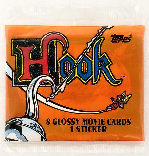 Hook Peter Pan Movie Cards And Stickers
