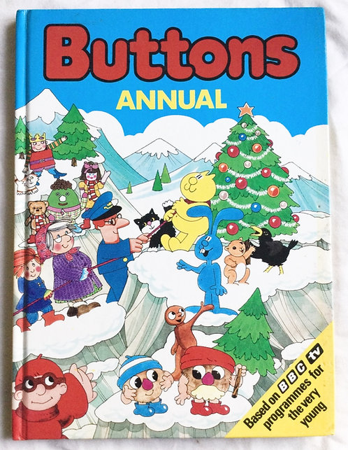 Buttons Annual Gran Henry's Cat King Rollo BBC 1984
