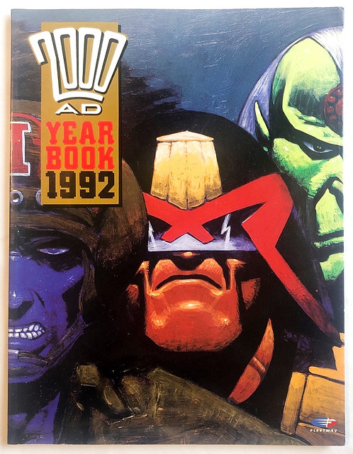 2000 AD Year Book 1992