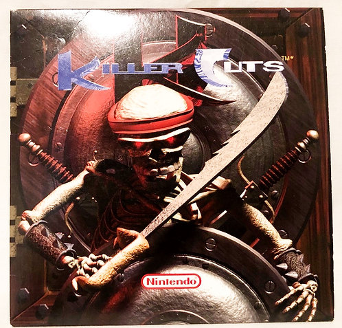 Killer Cuts The Killer Instinct Sound Track CD Nintendo 1995