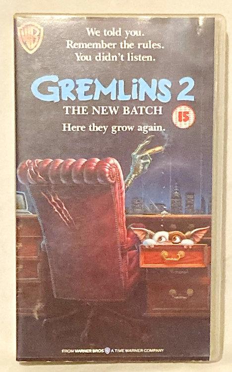 Gremlins 2 VHS 1991