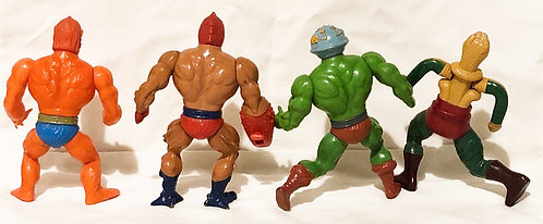 Vintage He-Man And The Masters Of The Universe Figure Set Mattel (B)