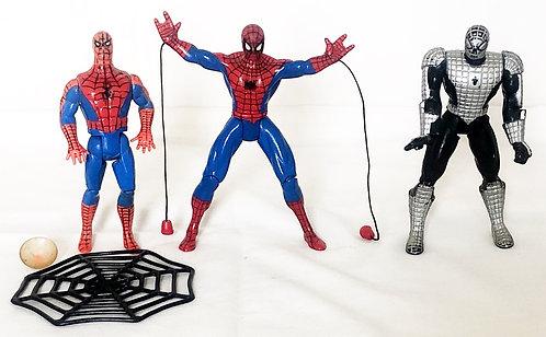 Vintage Spider-Man Figure Set