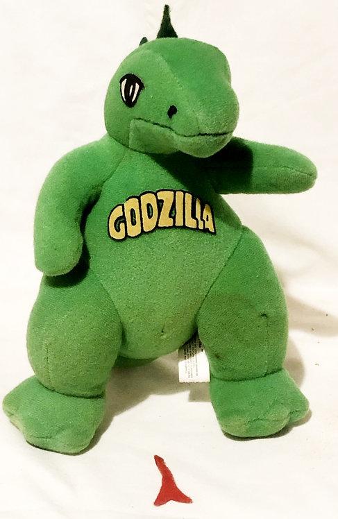 Godzilla 9'' Plush Beanie Knickerbocker 1979