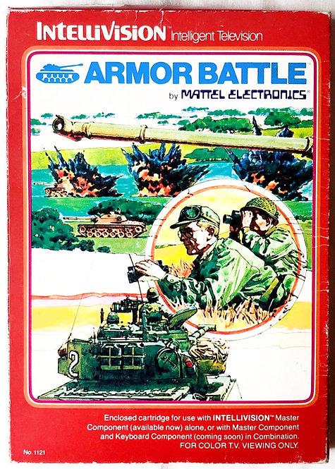 Armor Battle Intellivision Intelligent Television U.K. (PAL)