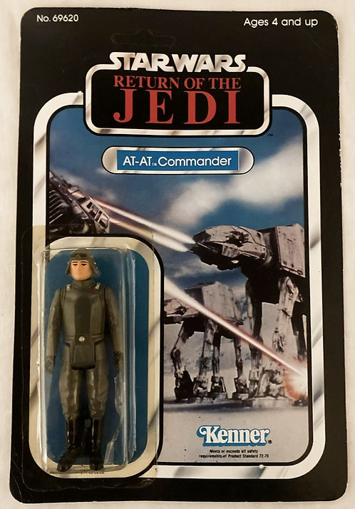 Vintage Star Wars Return Of The Jedi AT-AT Commander Kenner 1983