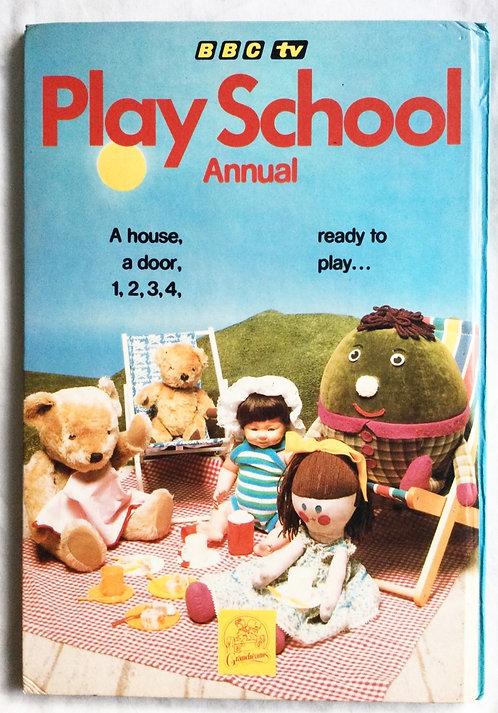 Play School Annual Grandreams 1982