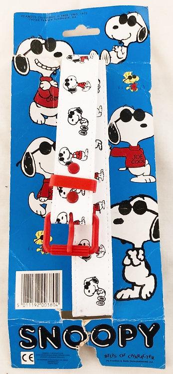 Vintage Snoopy Belt 1971