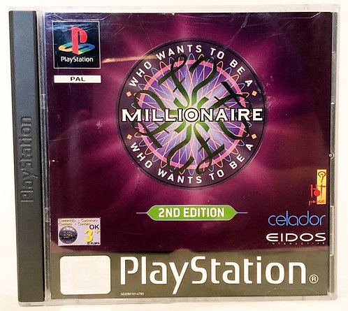 Who Wants To Be A Millionaire? 2nd Edition PlayStation Game U.K. (P