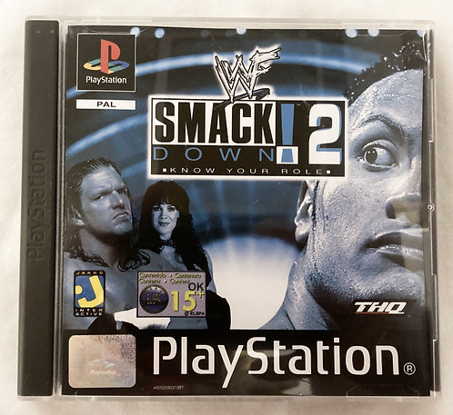 Playstation Smack Down 2 Know Your Role (PAL)